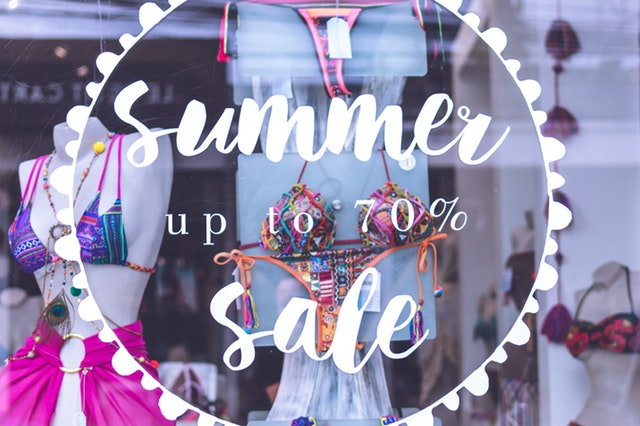 retail sms summer sale image
